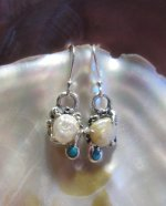 American Pearl Earrings